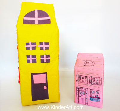 recycled art for kids